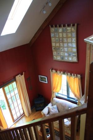 Applewood Hollow Bed and Breakfast: View from our Loft