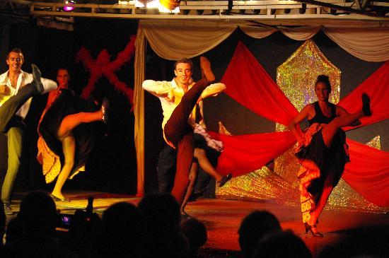San Pedro de Alcantara, Spanien: Un spectacle maison !