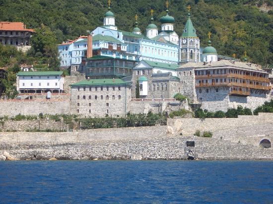 Sani Asterias Suites: Sani Ausflugsziel Berg Athos Kloster