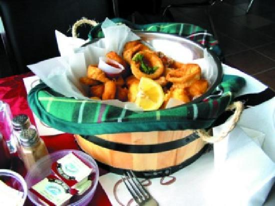 "Brown's Restaurant: The ""Puncheon Tub"" is a great way to taste Newoundland seafood."