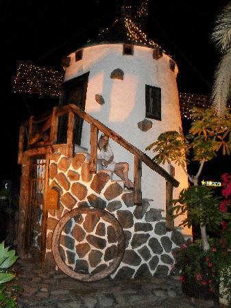 El Molino Blanco: Windmill at the entrance