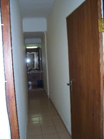 Corridor to bathroom