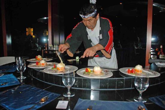 JA Jebel Ali Beach Hotel: Jebel Ali Tipp - Japanischer Koch im asiatischen Restaurant - vorbestellen!