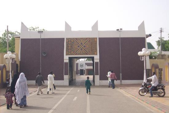 Emir's Palace: Front entrance to the Emir's private quarters