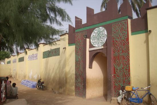 Back entrance to the Emir's palace