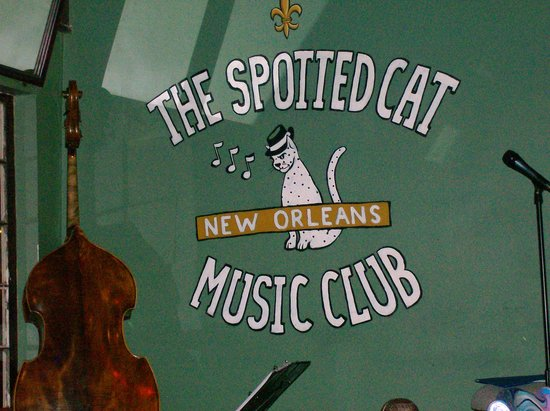 The Spotted Cat Music Club: The Cat