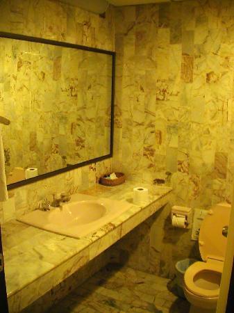 The Euro Grande Hotel: Das Badezimmer