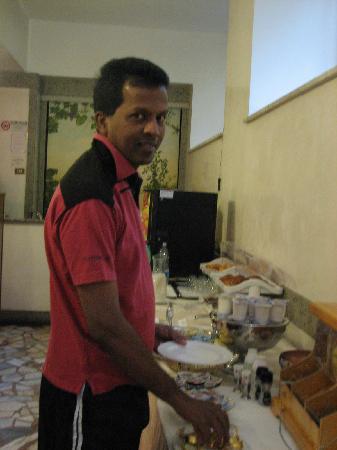 Domus Aventina: breakfast time