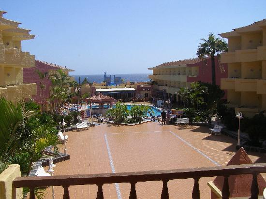 Marino Tenerife : view from our room