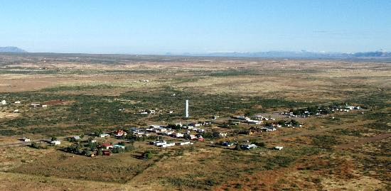 Aerial view of Rodeo New Mexico by BAlvarius