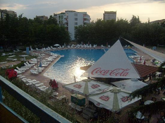 Pomorie Hotel: Pool View From Our Room