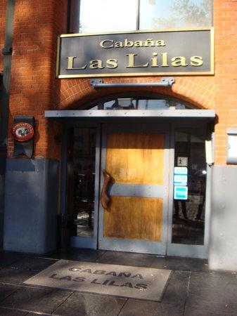 Cabaña Las Lilas: Entrada do Restaurante