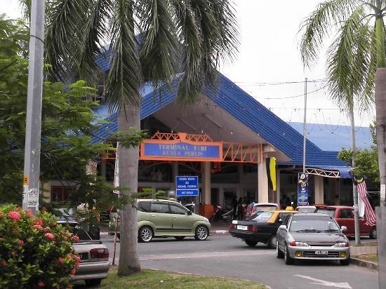 Perlis, Malaysia: Der Fährhafen