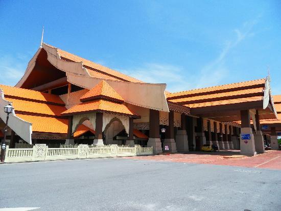 Kuala Terengganu, Malaysia: Terminal am Flughafen TGG