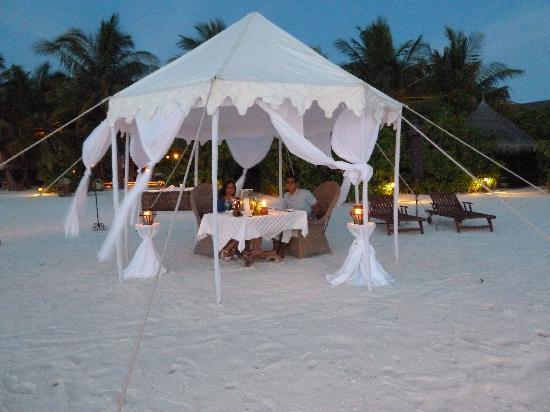 Naladhu Resort Maldives: Dining affair
