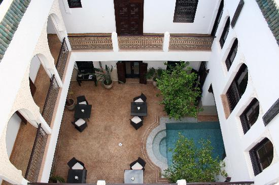 Riad Assakina: The Courtyard