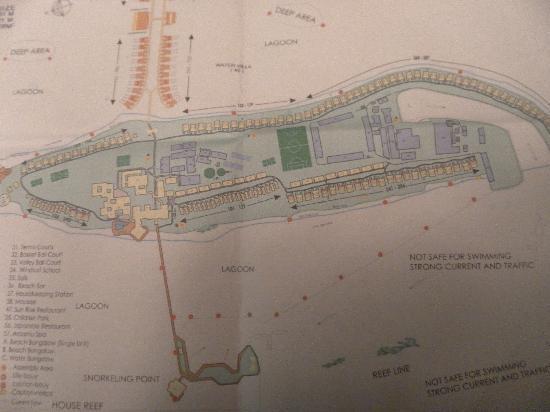 Paradise Island Resort & Spa: plan de l'hotel