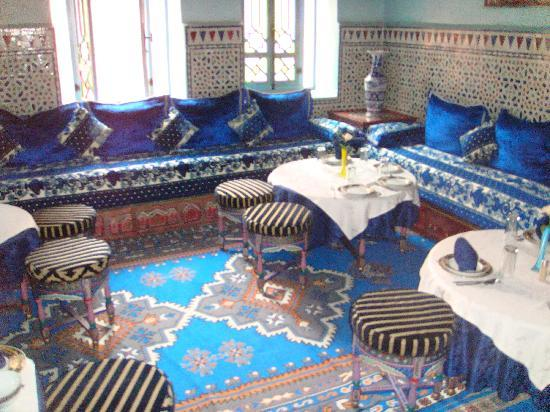 Moroccan House Hotel: Dining Room