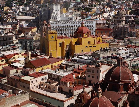 View of centro Guanajuato