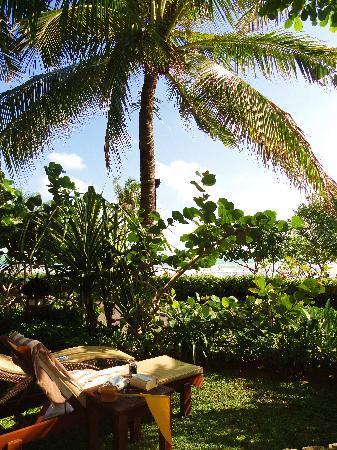 Padma Resort Legian : on aperçoit à peine la mer, mais c'est tranquille