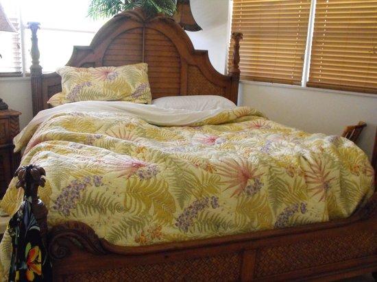 Sanibel Arms Condominiums: wonderful king size bed !
