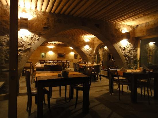 Argos in Cappadocia: Inside the restaurant at Hotel Argos