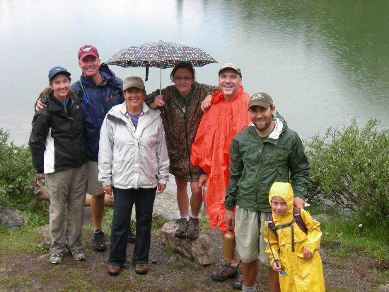 Deer Valley Ranch: Love the hiking! Even in the rain!