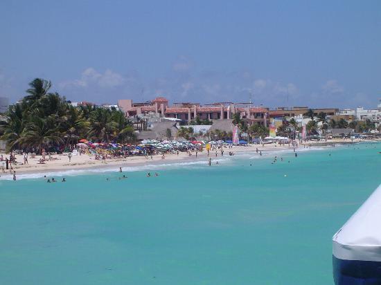 Hotel Soberanis Cancun : Playa del Carmen, la más hermosa de la Riviera