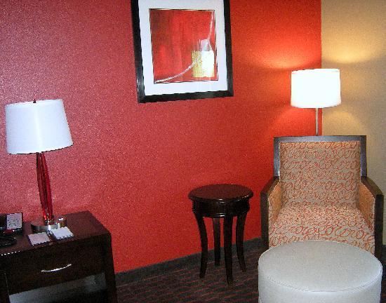 Hilton Garden Inn Oxford/Anniston: Sitting area