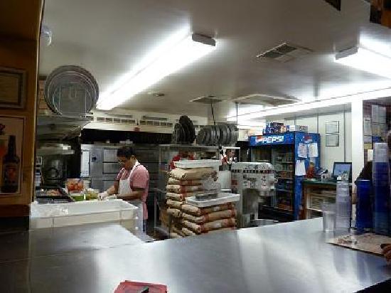 Fratellis Pizza : 厨房