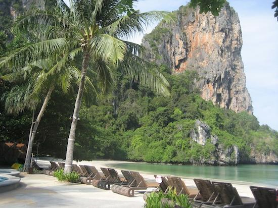Railay Bay Resort & Spa: I could kick it here all day