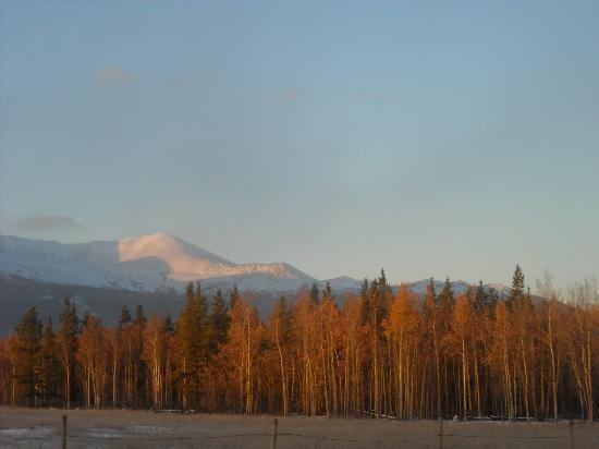 Takhini River Lodge: une des nombreuses vues ...