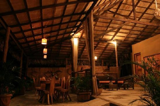 Amazon Ecopark Jungle Lodge: Lounge