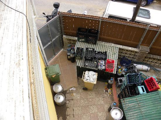 Rosamar Garden Resort: vue balcon