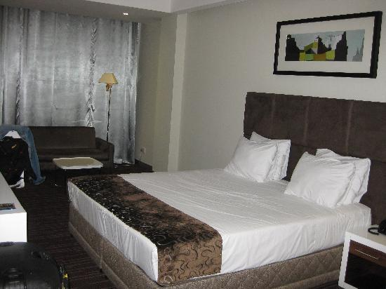 The George Hotel: Hotel Room (view 1)