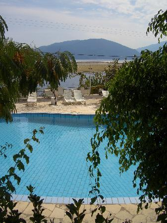 Isole Ioniche, Grecia: Gonatas Hotel, Pool, Sea, Scenery