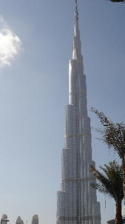 Coral Dubai Deira Hotel: Burj Khalifa