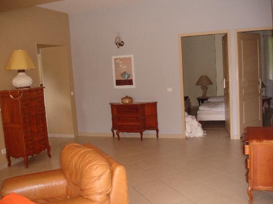 Moulin de Bugy : living room