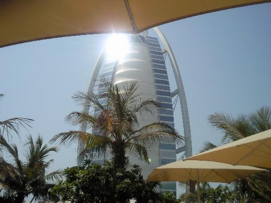 Jumeirah Beach Hotel: View from the pool :-)