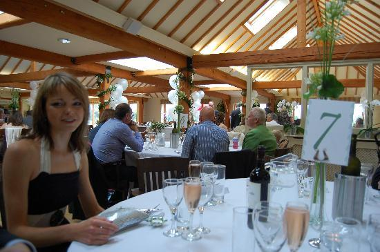 Briarfields Hotel : Restaurant done up for the wedding
