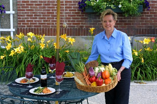 Inn at Mountain View Farm: Our food comes fresh from the garden!