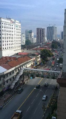 The Plaza Hotel Kuala Lumpur: A view from Room