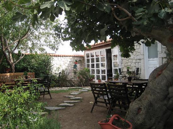 Incirliev Alacati: Incirliev Main Courtyard
