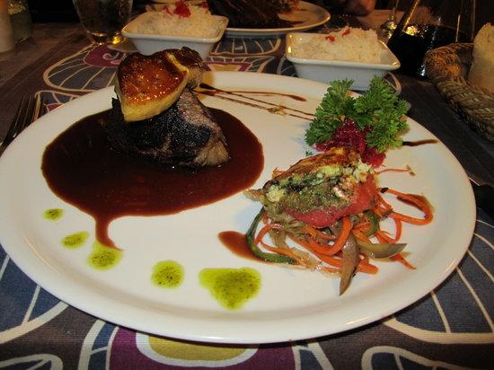 La Bounty : duck with foie gras