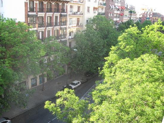 Hotel Trafalgar: View from balcony