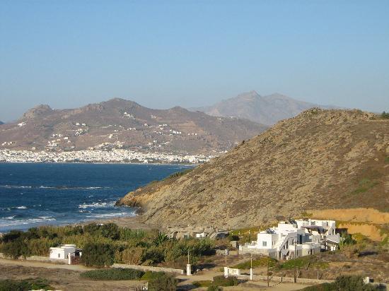 Naxos Magic Village: Vue de notre chambre