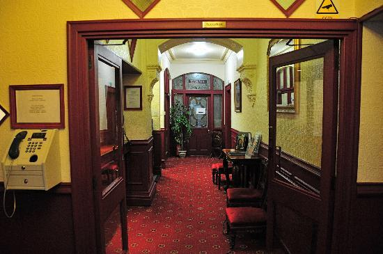 Port Erin, UK: Entrance lobby