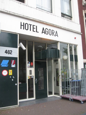 Hotel Agora: l'ingresso
