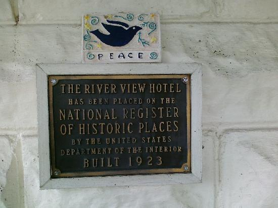 River View Hotel: Historical site