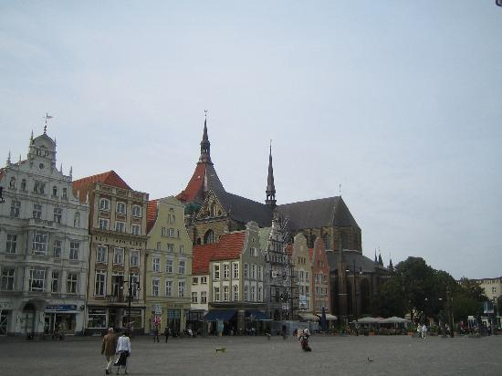 Rostock, Germany: Rathausplatz